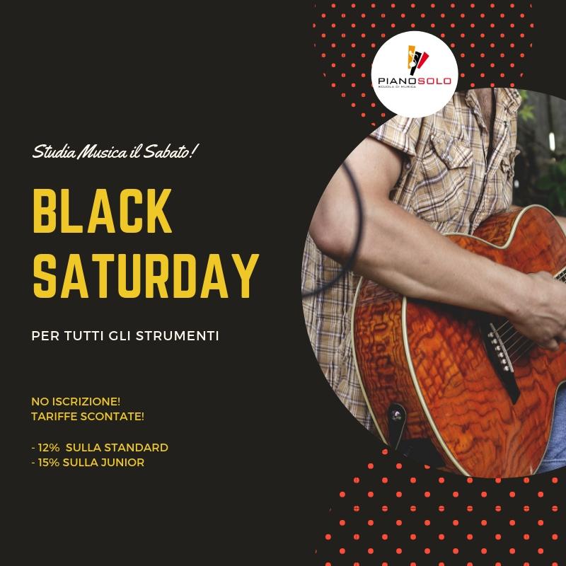 """Black Saturday - Scuola di Musica """"Piano, Solo"""""""