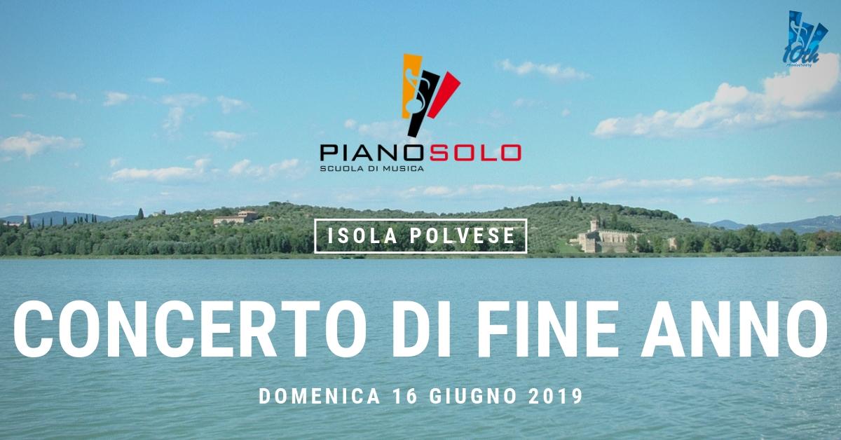 """Concerto di fine anno 16 Giugno 2019 - Scuola di Musica """"Piano, Solo"""""""